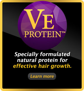 Natural protein for hair growth